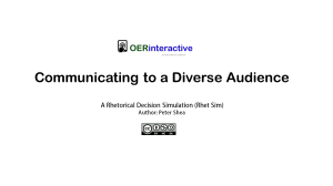 Communicating to a Diverse Audience